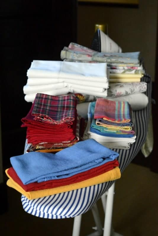 coming out of the ironing closet