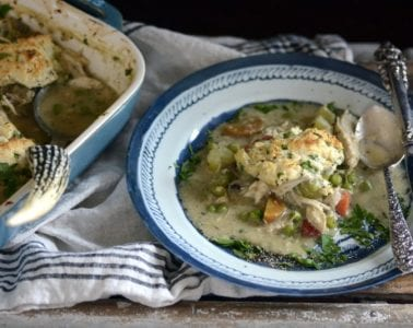 curried chicken & dumpling casserole