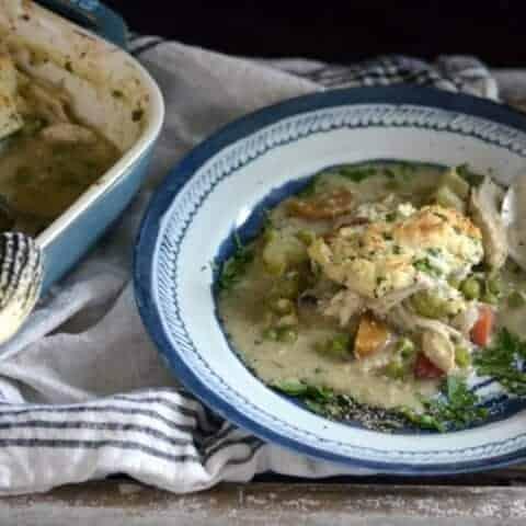 curried chicken & dumpling casserole