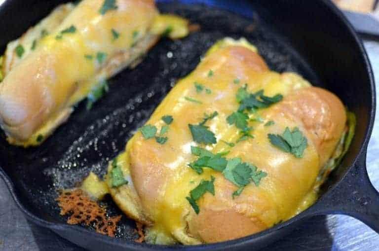 chicken mango fajita bake