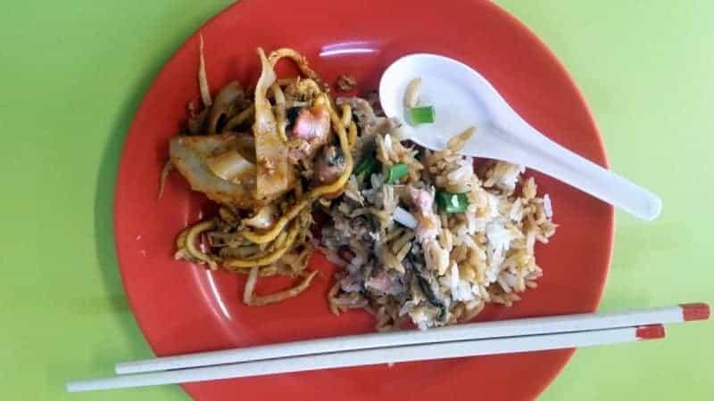 breakfast singapore hawker style