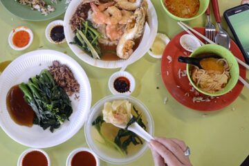 breakfast singapore hawker style