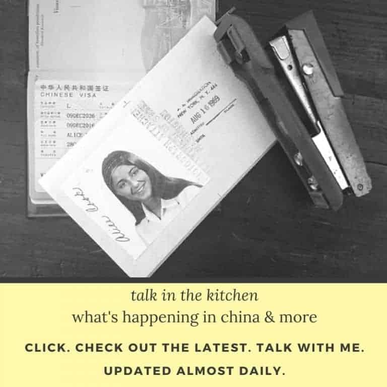 talk in the kitchen