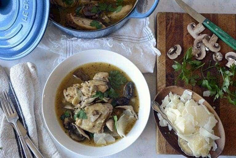 Chicken Marsala Mushroom Stew