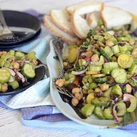 cucumber celery olive odyssey salad