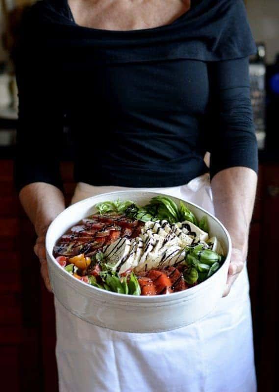 caprese salad styles & designs