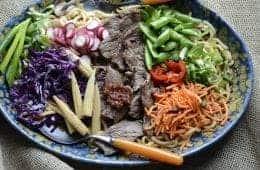 aussie grassfed beef asian bowl