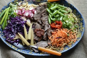 aussie grassfed beef asian bowl