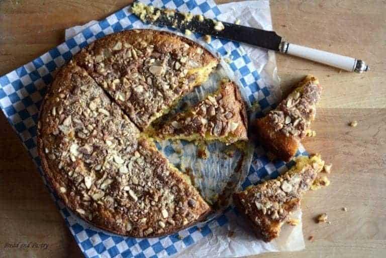 french vanilla almond cake