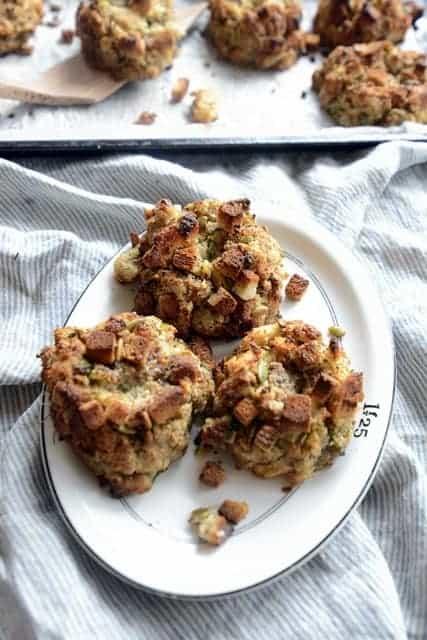 herb seasoned crispy dressing balls