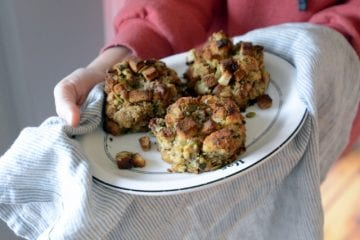 herb seasoned crispy dressing balls