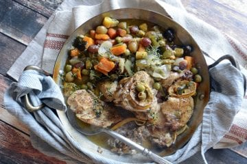 harissa chicken and vegetables