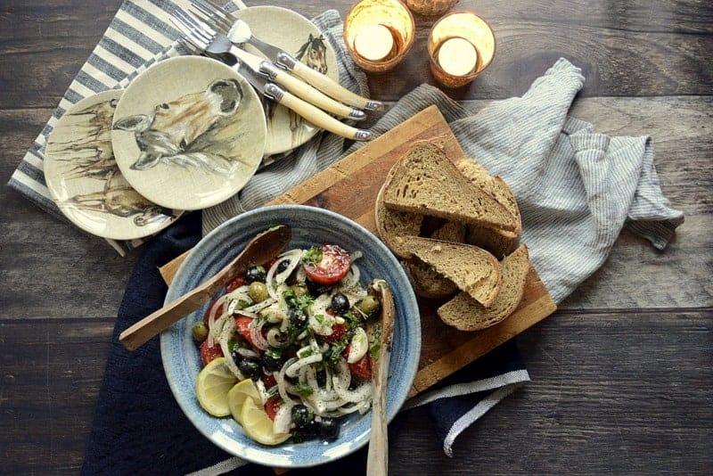 campari tomato onion olive salad