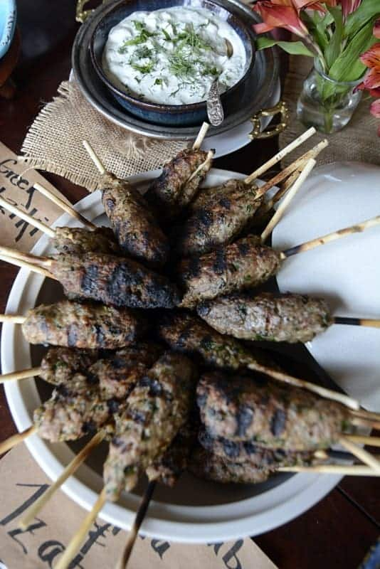 aussie moroccoan lamb kefta