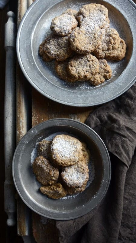 almond cinnamon tea cookies