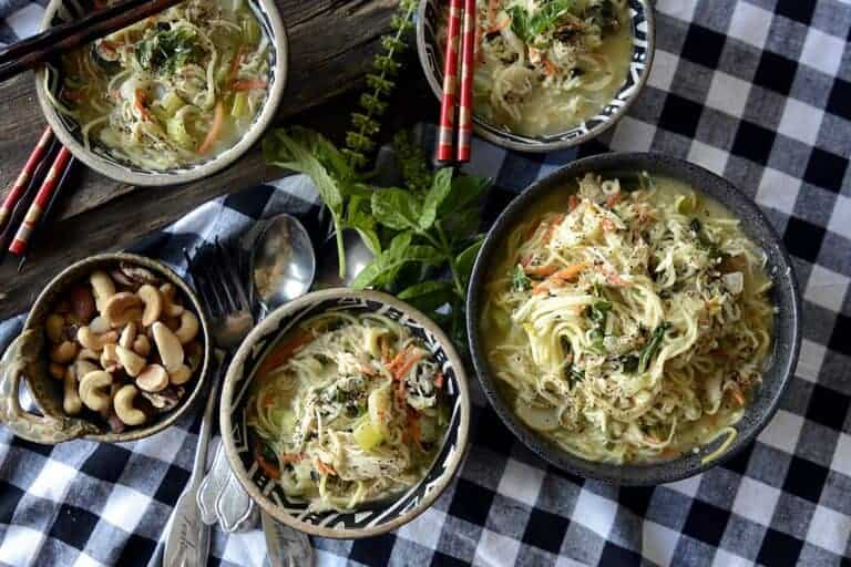 Asian Inspired Soulful Chicken Soup