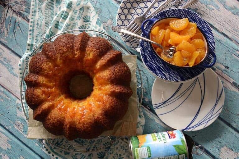 easy mandarin pound cake