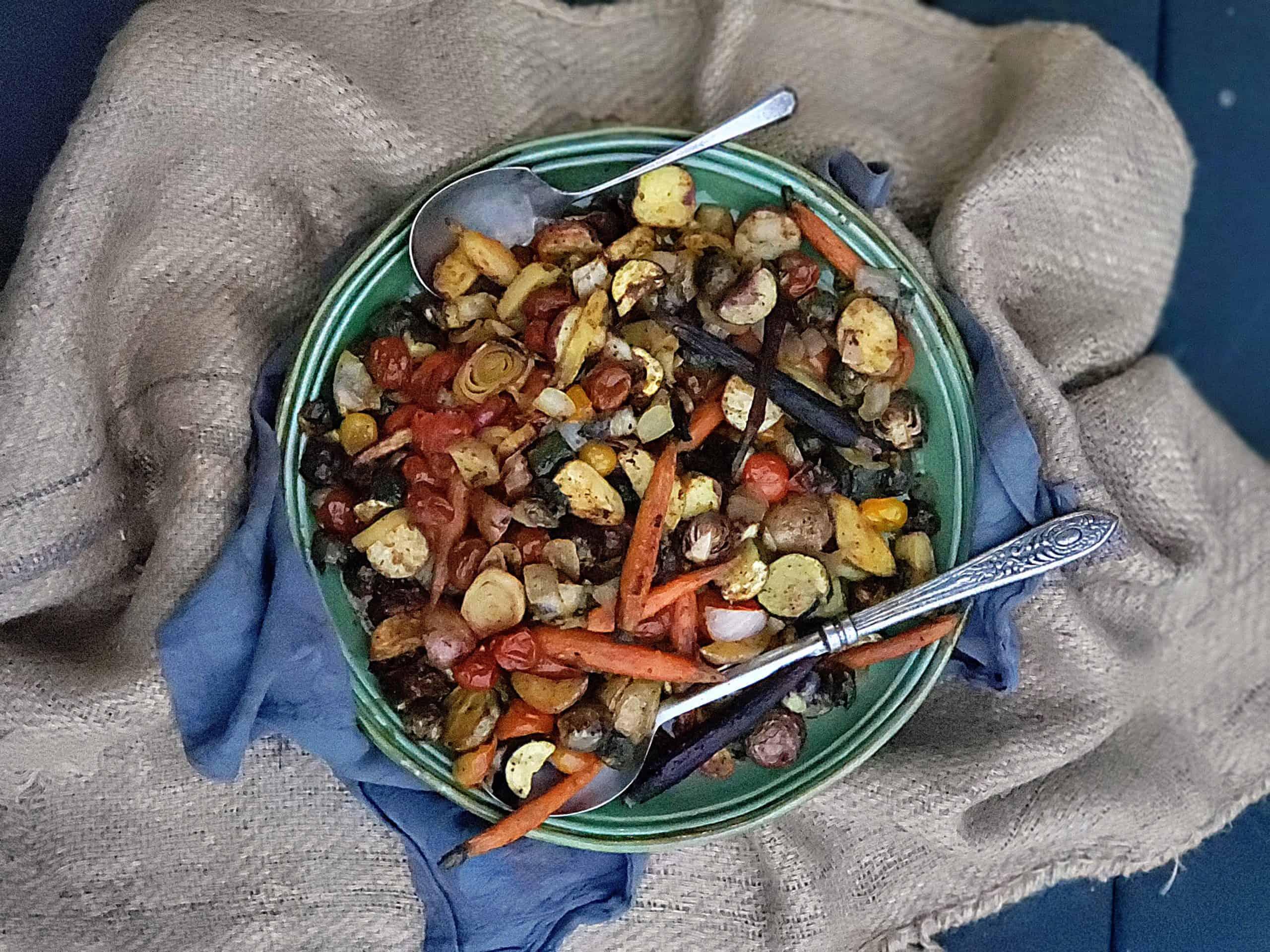 anti-inflammatory roasted vegetables