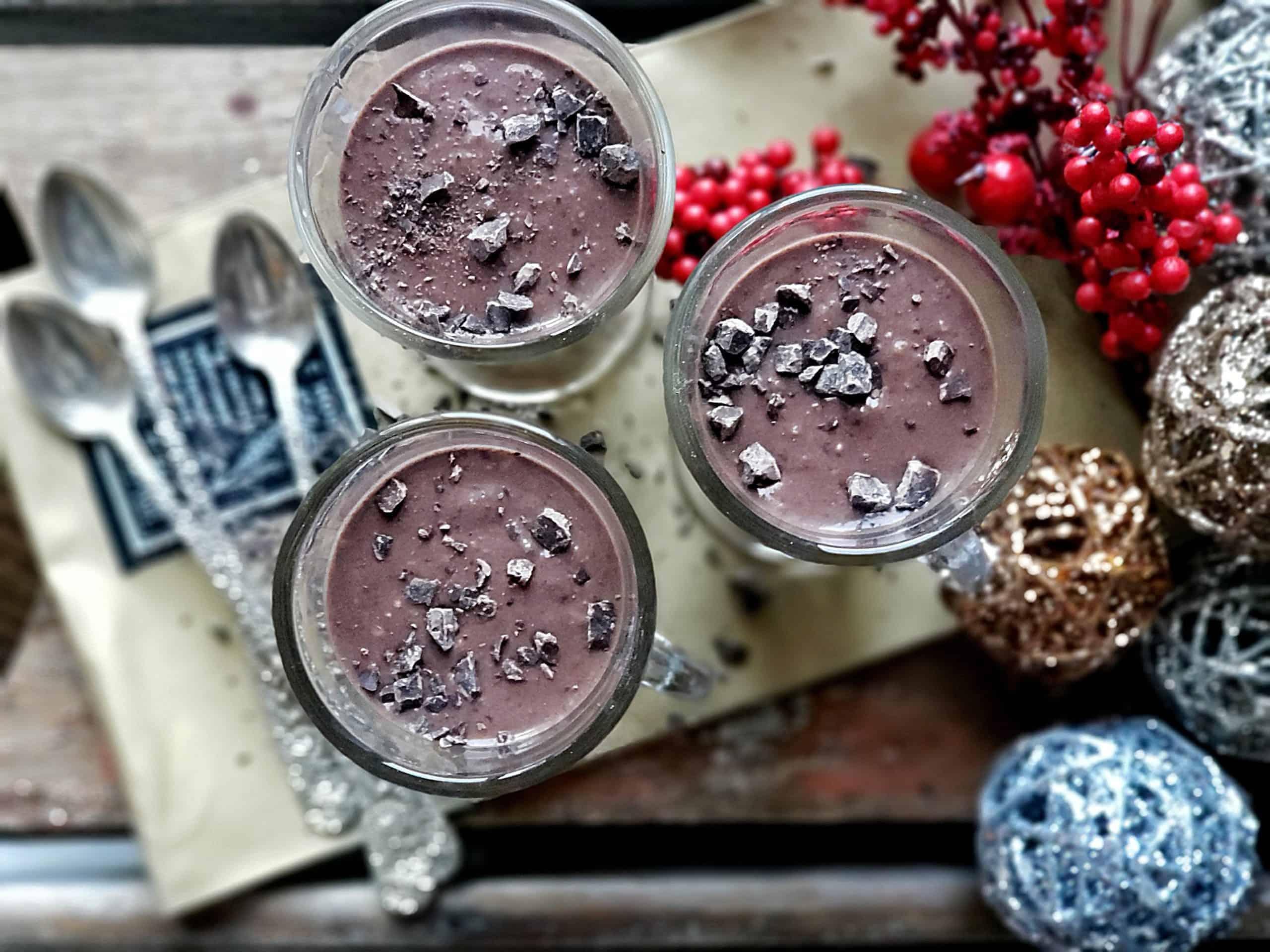 best cherry chocolate smoothie