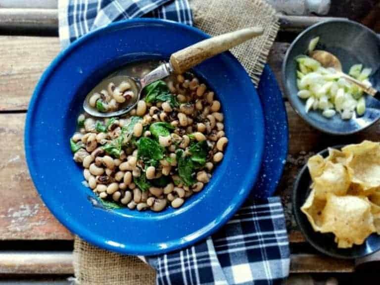 french onion black eyed peas