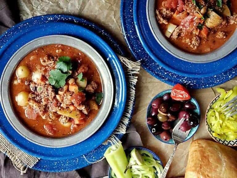 slow cooker lamb chili stew
