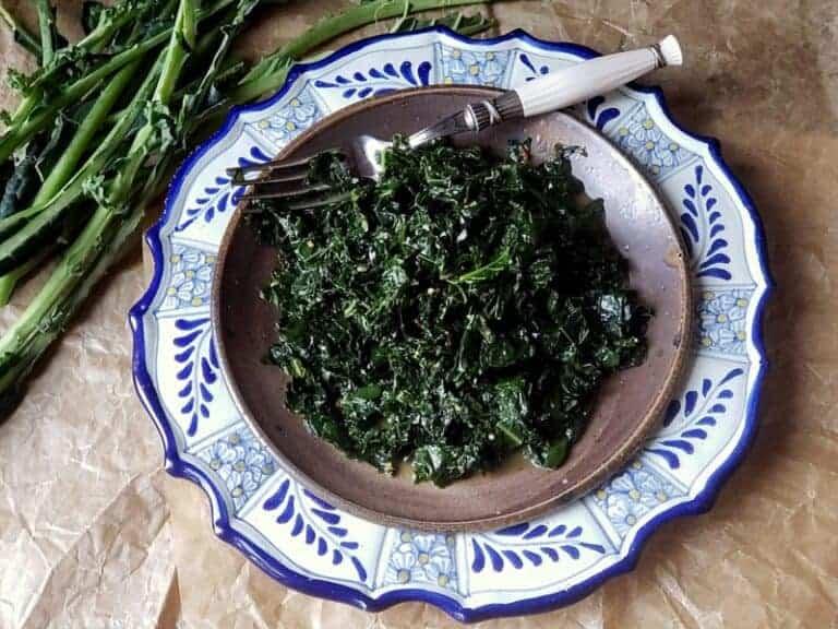 super antioxidant kale greens