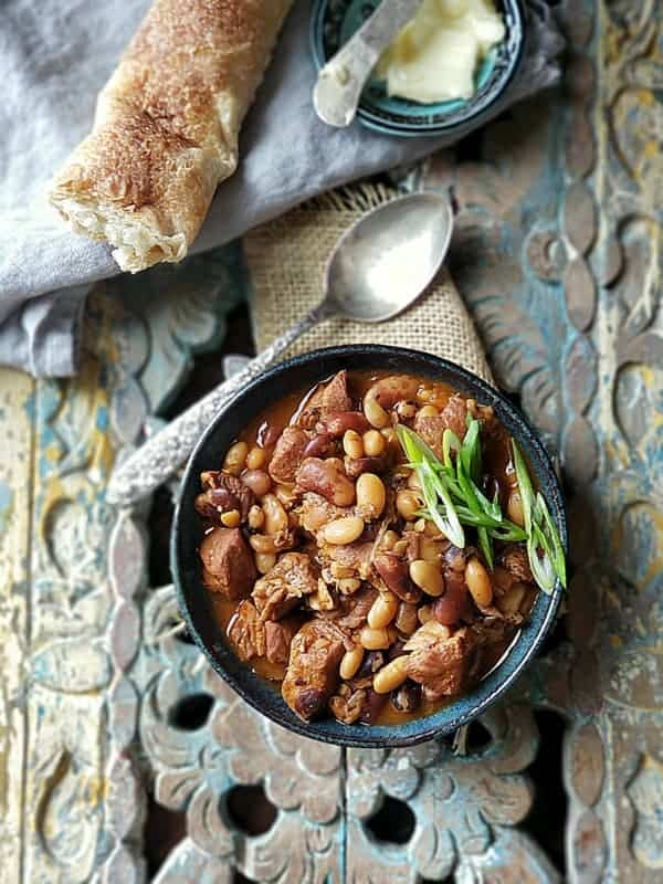 bbq pork and beans