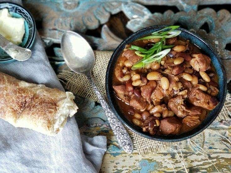 bbq pork and beans