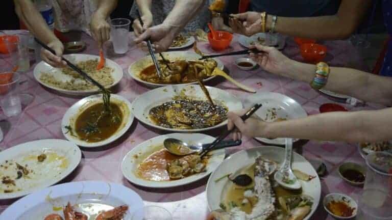 singaporean kelong dinner extravaganza