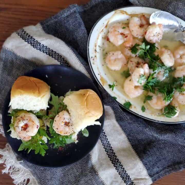 shrimp sliders