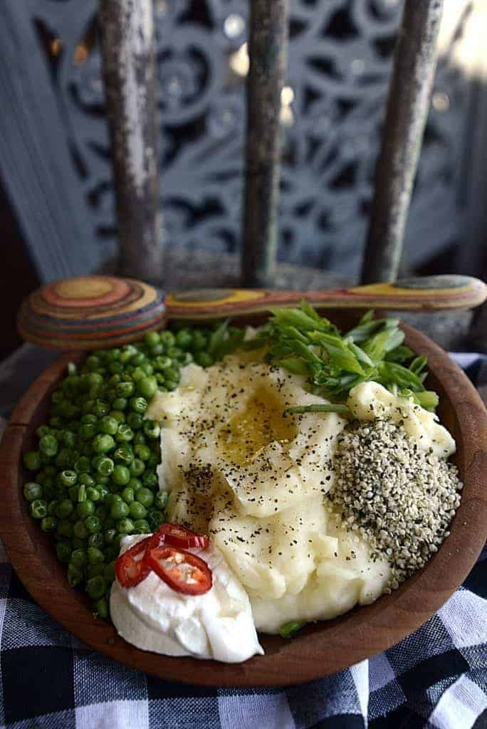 parmesan mashed potatoes