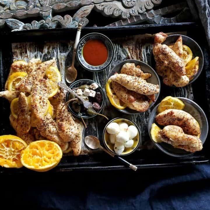 mango habanero chicken tenders