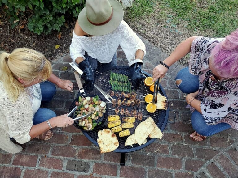 girls' night grilling: an unforgettable feast with kingsford charcoal