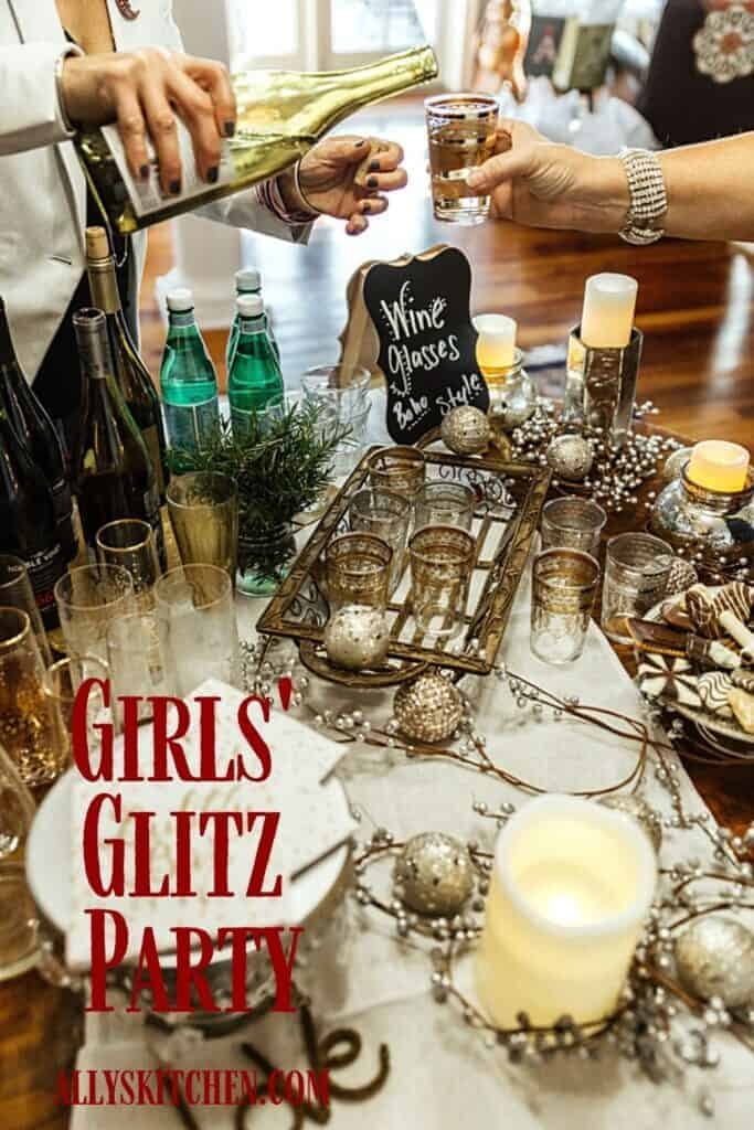 girls glitz party