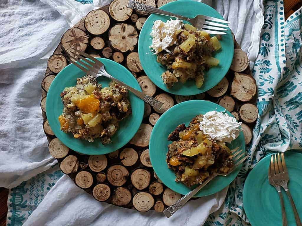 Mandarin Pineapple Dump Cake