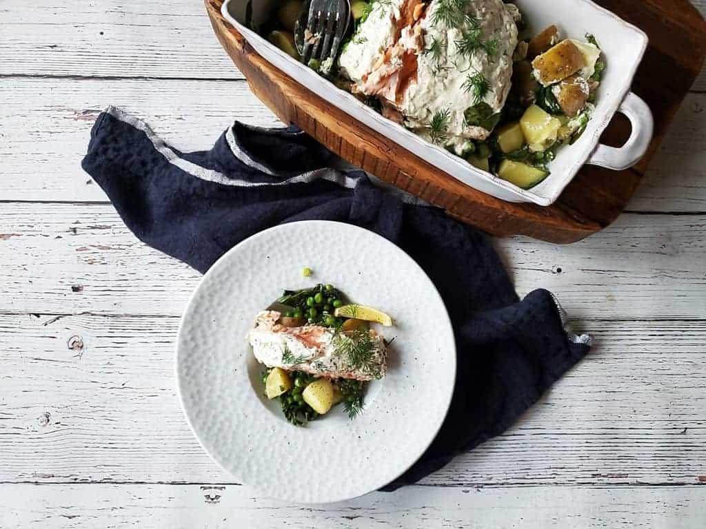 Super Easy Oven Baked Salmon
