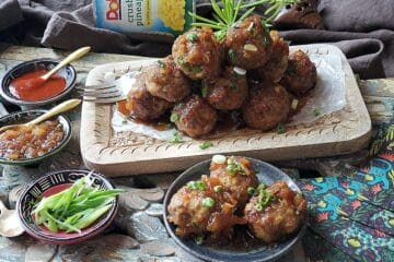 tropical meatballs