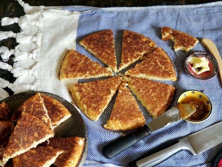 easy thin crispy cornbread