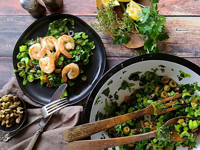 mediterranean celery olive salad