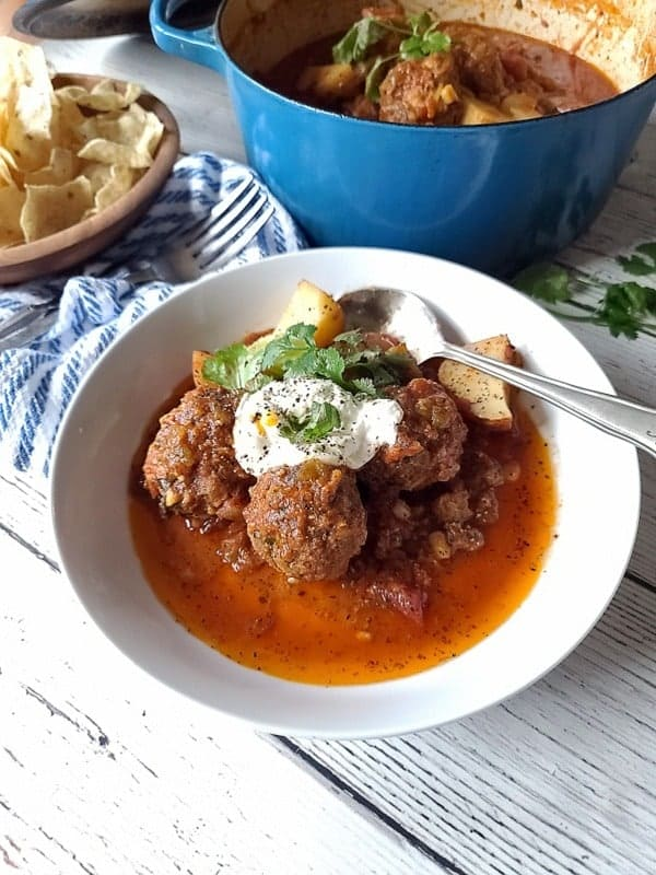 mexican style meatballs albondigas