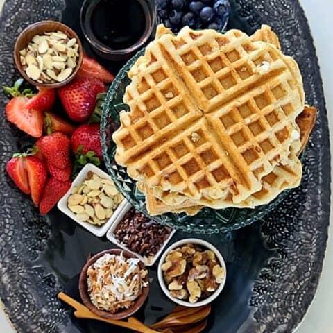 pearl sugar waffles