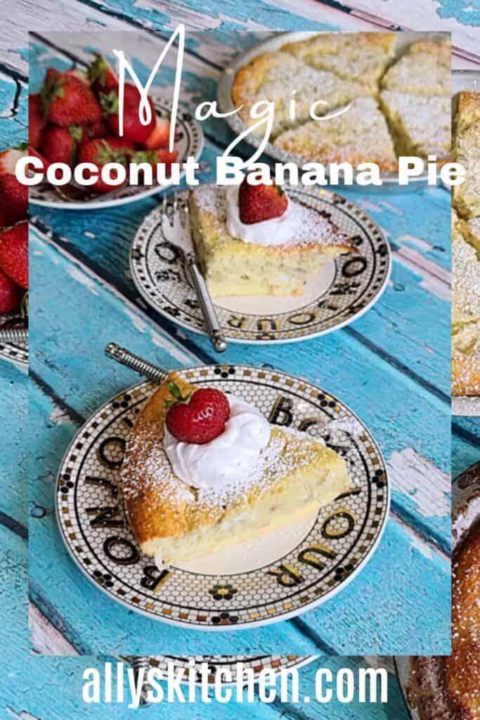 coconut banana pie