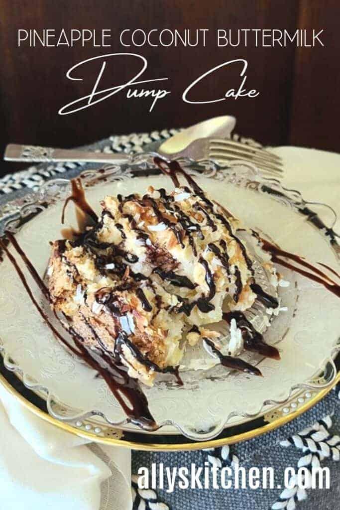 coconut dump cake