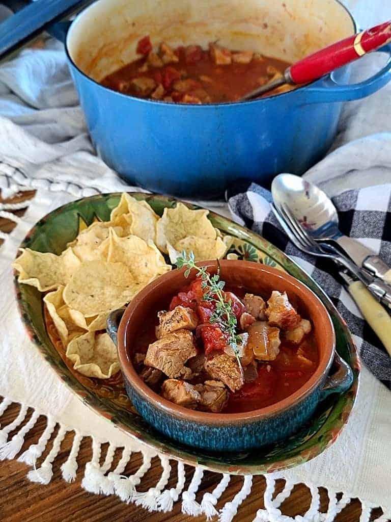 pork chop stew