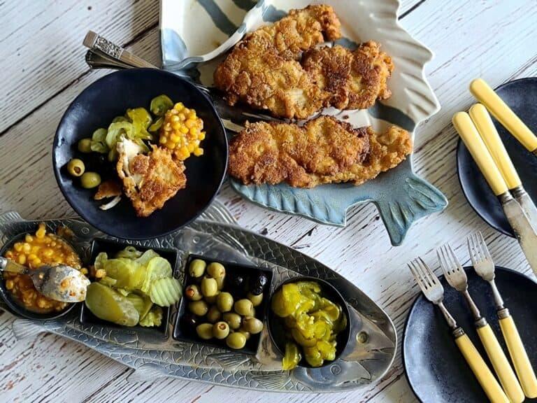 crispy pan fried fish
