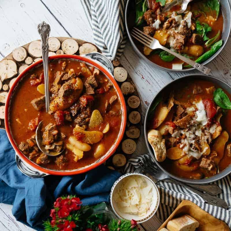 hard cider beef stew