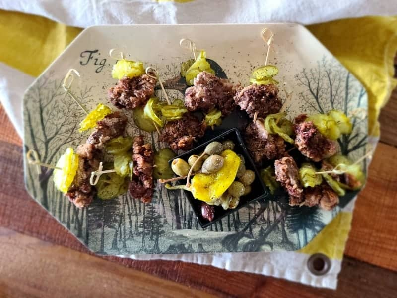 fried chicken livers appetizer