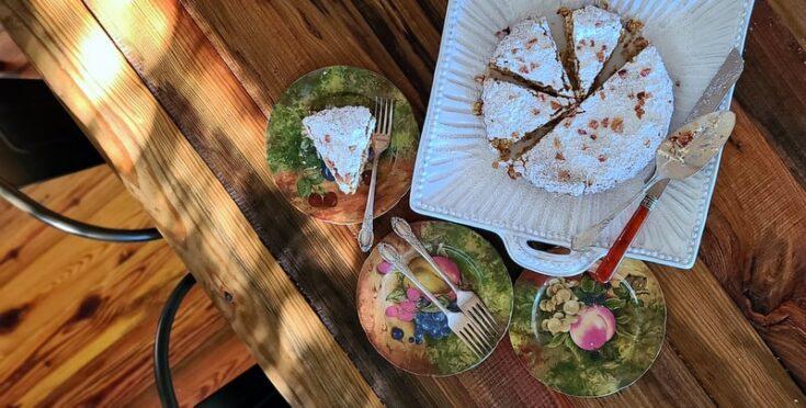 flourless wedding cookie cake