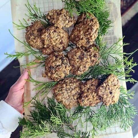 oatmeal coconut cookies