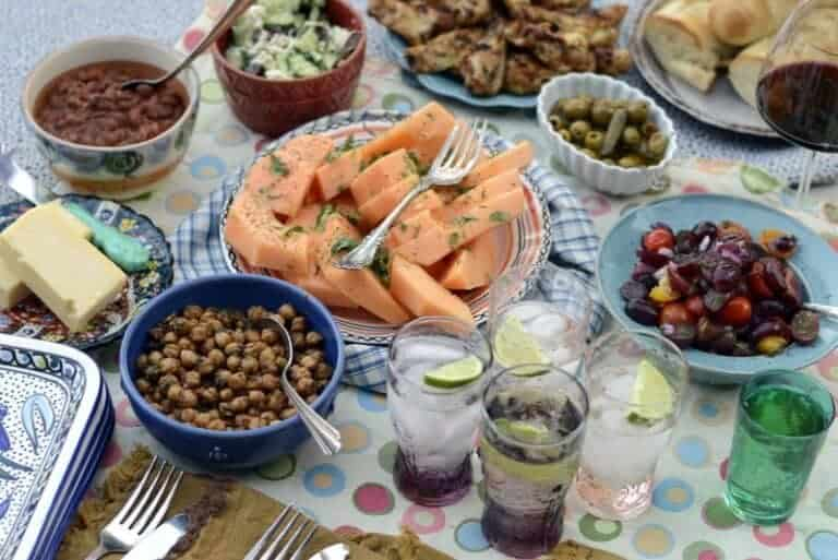 mezze or tapas style dining for the holidays